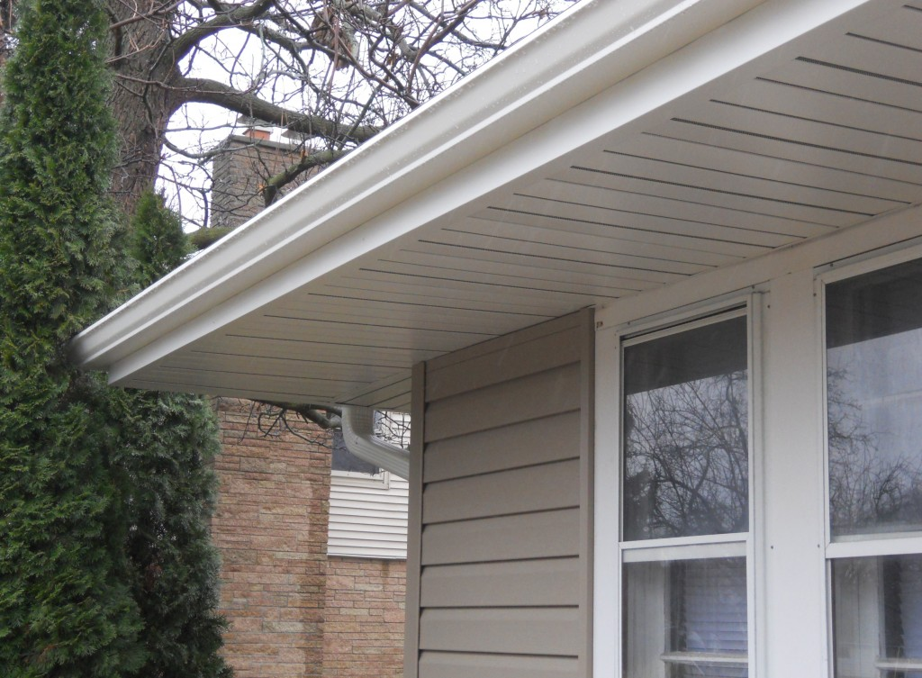 You no longer have to choose between no ventilation and panels that collect dirt.  Our hidden vent system allows you to have an attractive soffit without the eyesore of some of the other products out there.