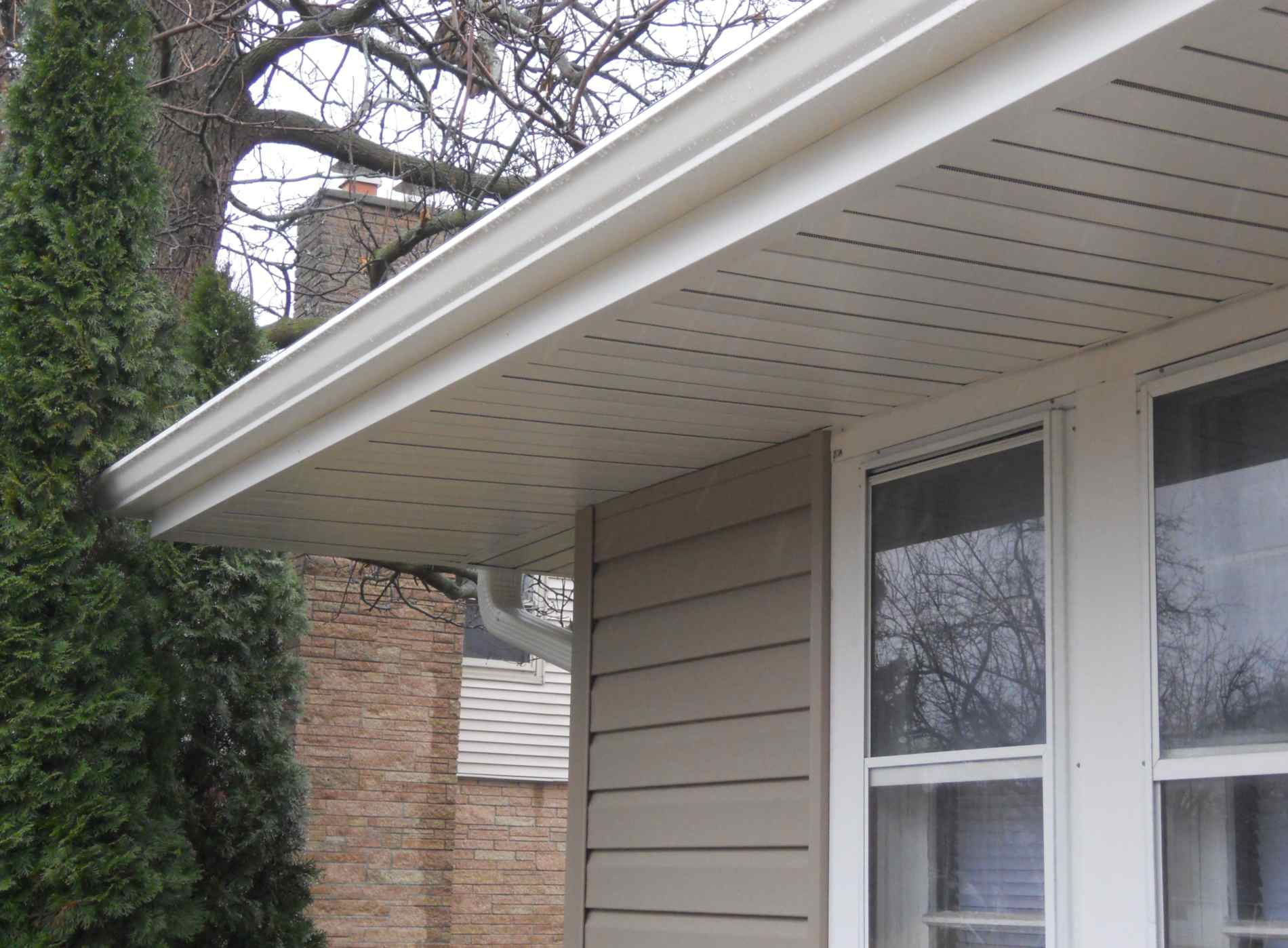 Hidden Vent Soffit Amp Fascia Milwaukee Wi Energy Masters