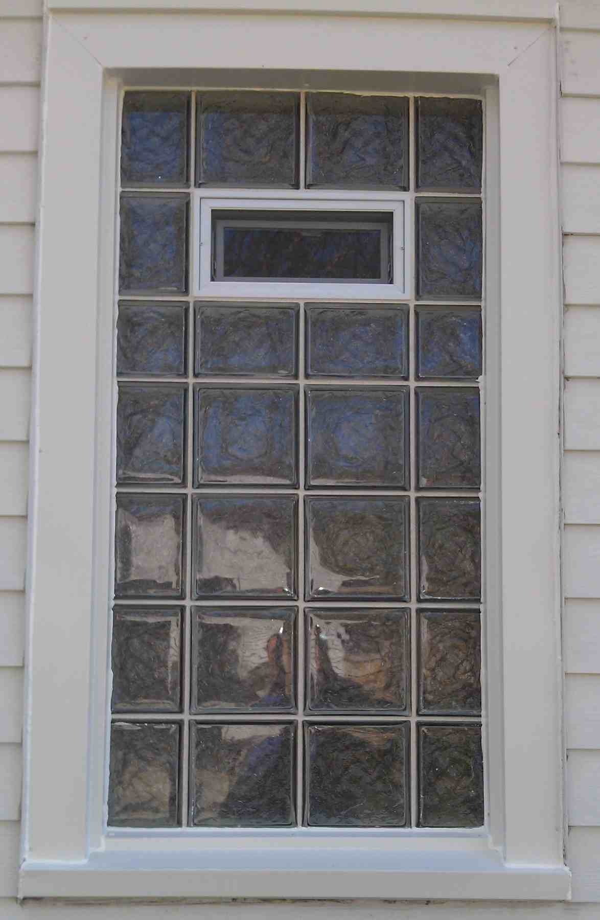 Glass Block Window Glass Block Windows Chicago Il Vinyl