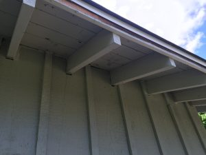 Exposed Eves Offer No Intake Ventilation