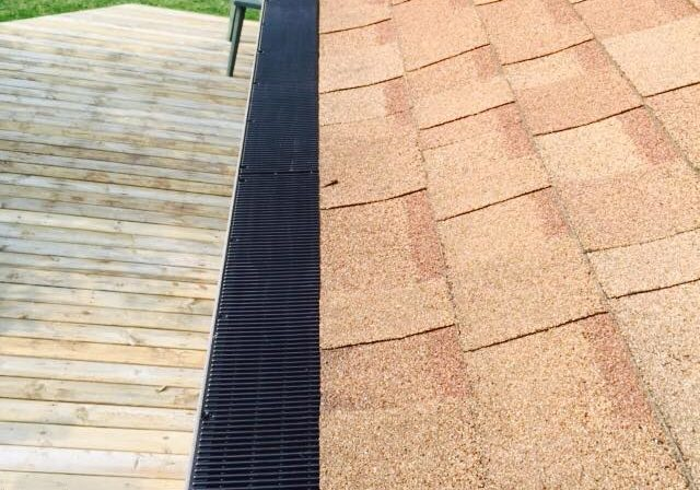 This low profile, poly-resin based product works great in cold climates where the majority of the debris is broad leafs such as maples.
